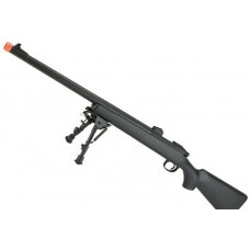 CYMA Standard VSR-10 Bolt Action Airsoft Sniper Rifle (Color: Black w/ Iron Sights)
