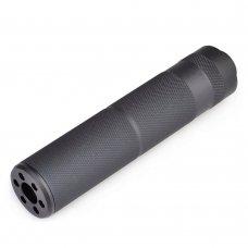 Metal 155mm C Type Silencer Black