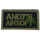 Andy's Airsoft Patch (Sewn)