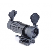 AimO 4x Magnifier Scope with Flip To Side Mount for holo sight aim-o