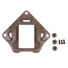 Carbon Steel Shroud Mount (Tan)