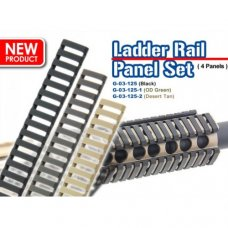 Ladder Rail Panel Set (Black)
