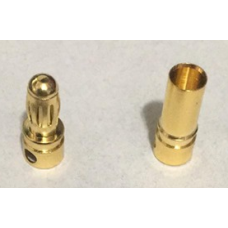 Bullet Connector Pair (Solder-On)