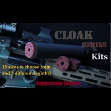 Cloak Series Suppressor Foam Insert Kits 24-40mm diameter 6-12 inch length