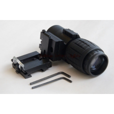 3x Magnifier Scope with Flip To Side Mount for holo sight