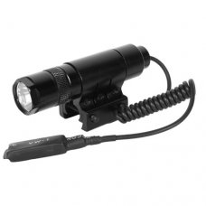 AIM Sports Flashlight with mount and pressure switch