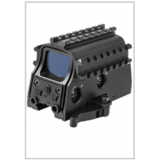 red dot sight with rails