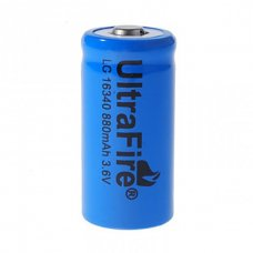 16340 rechargeable 3000mah (cr123a)
