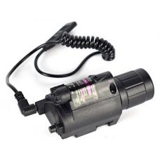 LED Flashlight/Laser Light Combo