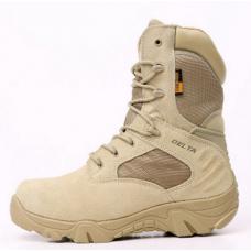Delta combat boots tan or black