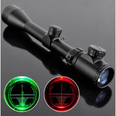 3-9x40 Illuminated scope with mount