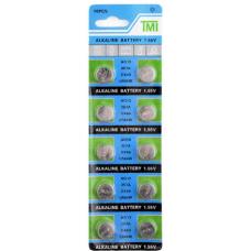 LR44 Button Cell - 1.5V Alkaline Battery. 10 pk