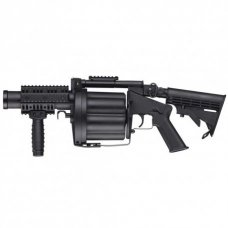ICS MGL Full Size Airsoft Revolver Grenade Launcher