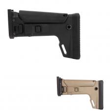 PTS Kinetic SCAR Adaptor Stock (SAS) Kit w/ Butt Stock (Black/FDE)