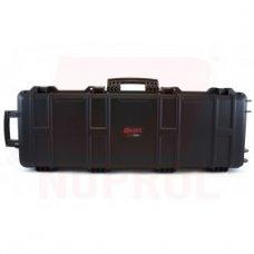 "EMG Transporter Lockable 42"" Hard Case w/ low-profile wheels & PnP foam (Color: Matte Black)"