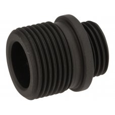 MadBull Steel Silencer thread Adapter for WE GBB Pistols to -14mm
