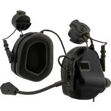 Earmor M32H MOD3 Tactical Headset for Fast Helmet (Black)
