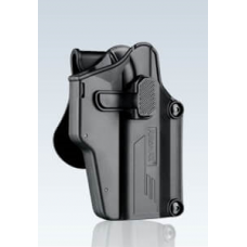 Amomax Universal Per-Fit Holster (Black, Right-Hand)
