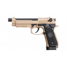 KJW M9A1 Metal CO2 Pistol w/ Threaded Tip (Tan)