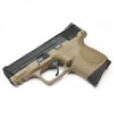 WE M&P COMPACT TAN FULL AUTO VERSION /W EXTENDED BARREL