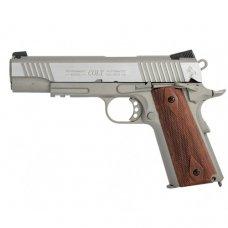 Colt 1911 Rail CO2 Pistol (Wood color Grips)