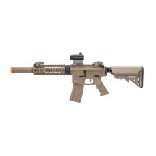 "Colt Licensed Elite Line M4 AEG by Cybergun (Model: M4 CQB-R w/ 7"" Rail / Tan)"