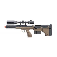 """Silverback Desert Tech SRS-A2 16"""" Bolt-Action Rifle (FDE/Left-Hand)"""