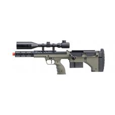 """Silverback Desert Tech SRS-A2 16"""" Bolt-Action Rifle (OD/Left-Hand)"""