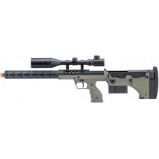 """Silverback Desert Tech SRS-A2 22"""" Bolt-Action Rifle (OD/Left-Hand)"""