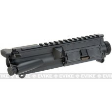 ICS Full Metal Upper Receiver with Charging Handle and Dust Cover - Black