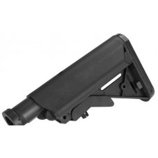 G&P. Crane Stock System w/ Metal Buffer Tube for M4 M16 Series Airsoft AEG - Black