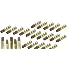ASG Brass Shells for Co2 Revolvers - Set of 25