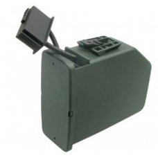 A&K 2500 Round Box Magazine for Airsoft M249 AEG LMG