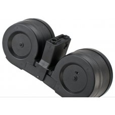 Matrix 2500rd Electric C-Mag Drum for M4 M16 Series Airsoft AEG (Electric Winding)