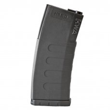 KWA K120 120rd Polymer Midcap Magazine for M4 / M16 Series Airsoft AEG Rifles (Color: Black / One)
