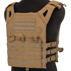 Matrix Level-1 Plate Carrier with Integrated Magazine Pouches (Tan)