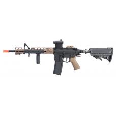 "G&P Mechanical HPA Powered M4 w/ 14.5"" Keymod MRE Handguard (Tan)"
