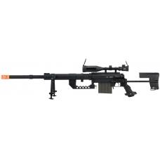 6mmProShop/S&T CheyTac M200 Intervention Bolt Action Sniper Rifle (Black)