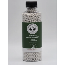 High Power Airsoft (HPA) Precision Biodegradable BBs (0.30g/1kg)