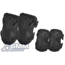 Matrix Knee and Elbow Pad Set (Black)