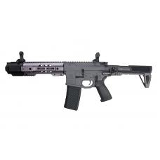 EMG/G&P Salient Arms Licensed GRY AR15 CQB AEG w/ PDW Stock (Gray)
