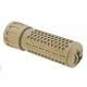 Madbull Knight's Armament 556 QDC Mini Suppressor (Tan, CCW)